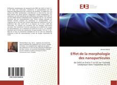 Borítókép a  Effet de la morphologie des nanoparticules - hoz