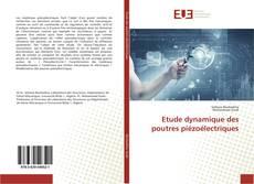 Bookcover of Etude dynamique des poutres piézoélectriques