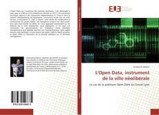 Bookcover of L'Open Data, instrument de la ville néolibérale
