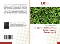 Couverture de Les écorces de tamarin par la technique de fluorescence X