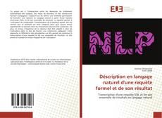 Couverture de Déscription en langage naturel d'une requète formel et de son résultat