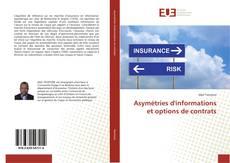 Asymétries d'informations et options de contrats kitap kapağı