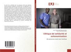 Buchcover von Ethique de solidarité et autonomisation