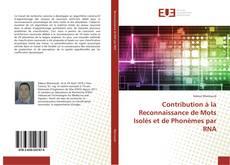 Обложка Contribution à la Reconnaissance de Mots Isolés et de Phonèmes par RNA