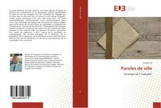Bookcover of Paroles de ville