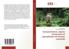 Portada del libro de Comportement, régime alimentaire et reproduction du Faucon crécerelle