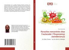 Bookcover of Parasites rencontrés chez l'aulacode ( Thryonomys swinderianus)