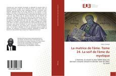 Bookcover of La matrice de l'âme. Tome 24. La soif de l'âme du mystique