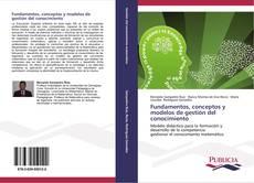 Capa do livro de Fundamentos, conceptos y modelos de gestión del conocimiento
