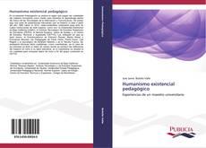 Обложка Humanismo existencial pedagógico