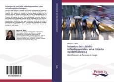 Buchcover von Intentos de suicidio infantojuveniles: una mirada epidemiológica