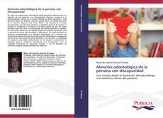 Copertina di Atención odontológica de la persona con discapacidad
