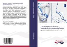 Buchcover von Secuelas psíquicas en los traumatismos craneoencefálicos