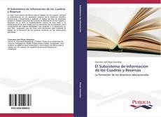 Portada del libro de El Subsistema de Información de los Cuadros y Reservas