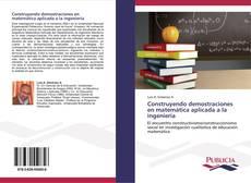 Capa do livro de Construyendo demostraciones en matemática aplicada a la ingeniería
