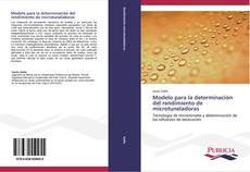 Modelo para la determinación del rendimiento de microtuneladoras kitap kapağı