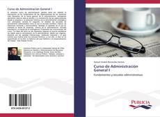 Bookcover of Curso de Administración General I