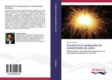 Estudio de la combustión de concentrados de cobre kitap kapağı
