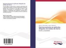 Bookcover of Electrocromismo en películas delgadas de óxidos de hierro