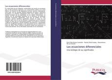 Copertina di Las ecuaciones diferenciales