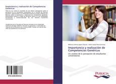Bookcover of Importancia y realización de Competencias Genéricas