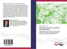 Elección racional vs acción comunicativa kitap kapağı