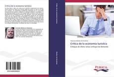 Bookcover of Crítica de la economía turística