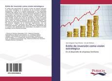 Обложка Estilo de inversión como visión estratégica
