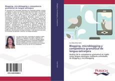 Portada del libro de Blogging, microblogging y competencia gramátical de lengua extranjera
