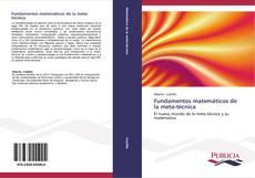 Fundamentos matemáticos de la meta-técnica的封面