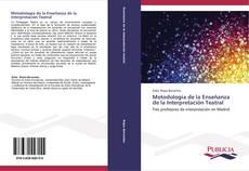 Обложка Metodología de la Enseñanza de la Interpretación Teatral