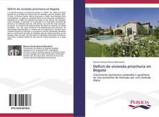 Portada del libro de Déficit de vivienda prioritaria en Bogotá