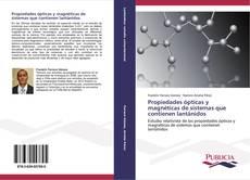 Portada del libro de Propiedades ópticas y magnéticas de sistemas que contienen lantánidos
