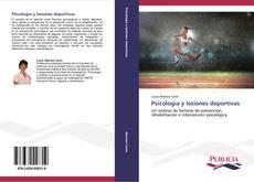 Capa do livro de Psicología y lesiones deportivas