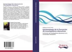 Portada del libro de Epistemología de la formación de investigadores educativos
