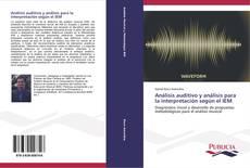Buchcover von Análisis auditivo y análisis para la interpretación según el IEM