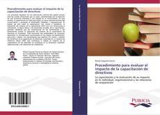 Portada del libro de Procedimiento para evaluar el impacto de la capacitación de directivos