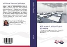 Bookcover of Evaluación de instituciones de secundaria