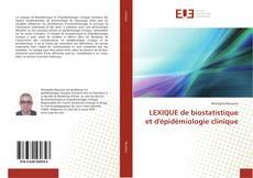 LEXIQUE de biostatistique et d'épidémiologie clinique的封面