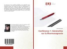 Conférence 1: Généralites sur la Pharmacognosie kitap kapağı