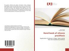 Bookcover of Hand book of silicone prosthesis