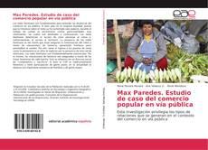 Portada del libro de Max Paredes. Estudio de caso del comercio popular en vía pública