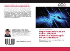 """Обложка Implementación de un nuevo método numérico""""Homotopía de perturbación"""""""