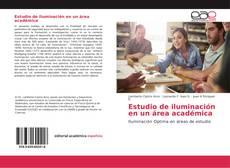 Buchcover von Estudio de iluminación en un área académica