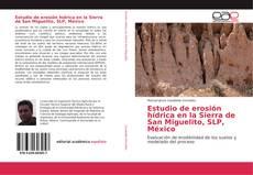Bookcover of Estudio de erosión hídrica en la Sierra de San Miguelito, SLP, México