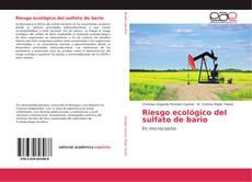 Bookcover of Riesgo ecológico del sulfato de bario