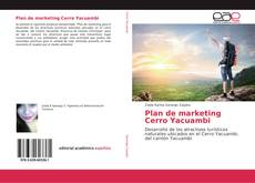 Plan de marketing Cerro Yacuambi