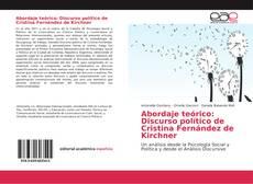Обложка Abordaje teórico: Discurso político de Cristina Fernández de Kirchner