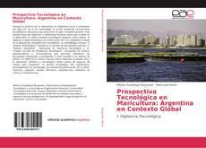 Capa do livro de Prospectiva Tecnológica en Maricultura: Argentina en Contexto Global