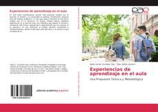 Portada del libro de Experiencias de aprendizaje en el aula